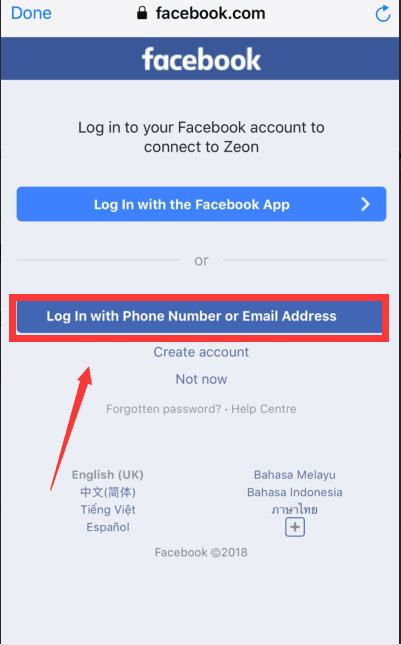 Facebook login Error.png